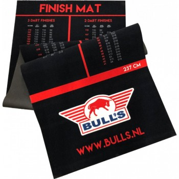 Bull's NL Carpet Finishmat 300x60 - Dartmatte mit Oche
