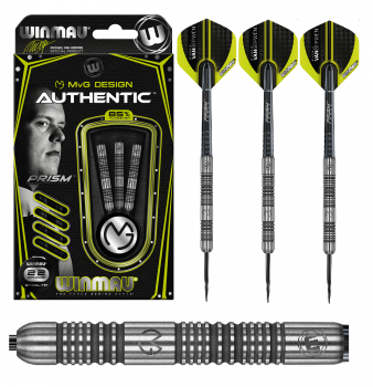 26g - Winmau Michael van Gerwen MvG Authentic - Steeldart
