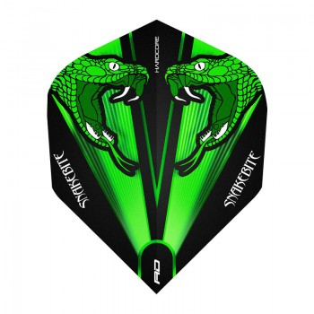 Red Dragon Flight Hardcore Peter Wright - Green Transparent - 6416