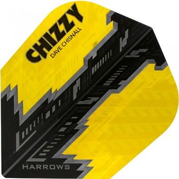 Harrows Flights Prime Dave Chisnall Yellow