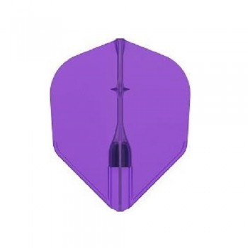 L-Style Flight - Champagne L3 EZ Pro Shape - Clear Purple