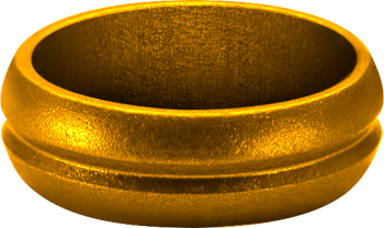 Mission F-Lock Ring - Gold