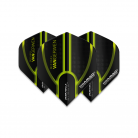 Winmau Flight - Prism Alpha - Michael van Gerwen MvG - Black