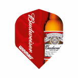 Winmau Flight - Mega Standard - Budweiser - Red