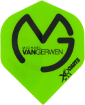 XQ-Max Flight Michael van Gerwen MVG Logo -  Green Black