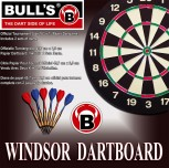 Bull's Windsor Paper Dartboard