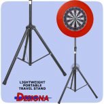 Designa Darts Travel Stand Std. Edition Dartboardständer