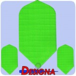 Designa Flight Nylon - Slim - Fluro Green
