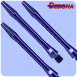 Designa Shaft Alu Anodised - Medium - Blue
