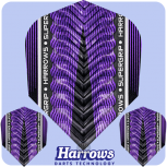 Harrows Flight Supergrip X - Purple