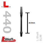 L-Style Shaft Lock Slim 440 - Black