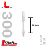 L-Style Shaft Lock Slim 300 - White
