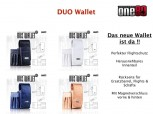 One80 Duo Wallet - Creme