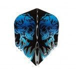 Target Flight Vision Skull Facing - Blue