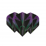 Winmau Flight - Prism Alpha - Black & Purple