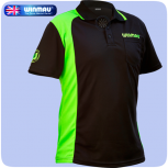 Winmau Shirt WinCool 2 - Black with Green - 3XL