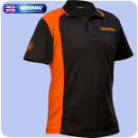 Winmau Shirt WinCool 2 - Black with Orange - 3XL